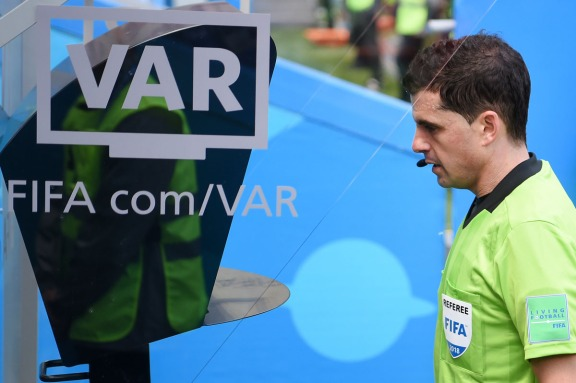 VAR 2018 FIFA World Cup Russia