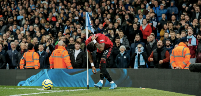 Fred, Manchester City vs Manchester United
