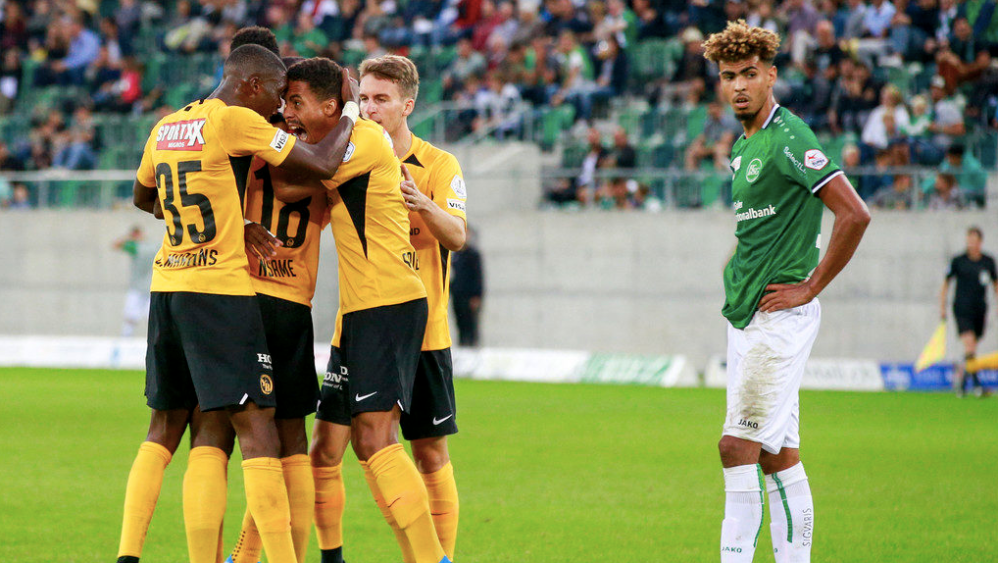 St. Gallen 3:3 BSC Young Boys
