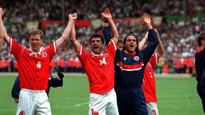 Switzerland EURO 96